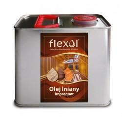 Olej lniany FLEXOL 2,5 L IMPREGNAT DO DREWNA