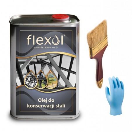 Olej do konserwacji stali FLEXOL 1 L