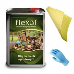FLEXOL OLEJ DO MEBLI OGRODOWYCH NATURALNY 1 LITR