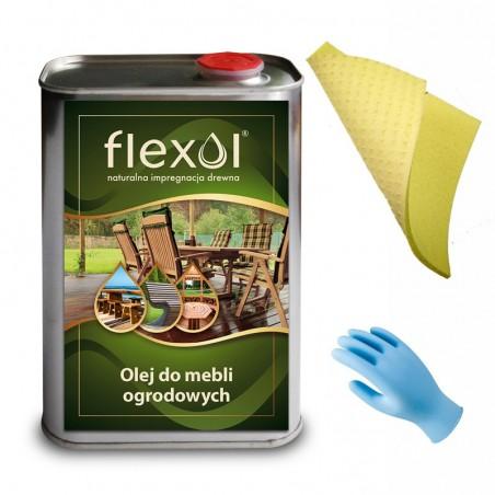 Olej do mebli ogrodowych FLEXOL 1 L