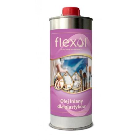 Olej lniany dla plastyków FLEXOL 0,5 L